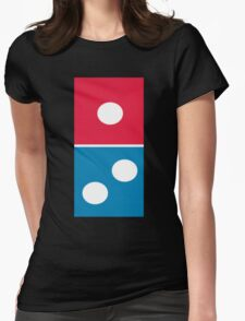 Dominos Logo Womens Fitted T-Shirt