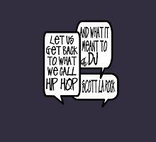 KRS One Scott La Rock - let us get back to what we call hip hop Unisex T-Shirt