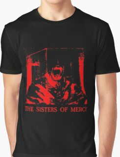 The Sisters Of Mercy - The Worlds End - Body Electric - Adrenochrome Graphic T-Shirt