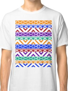 Whimsical Color Pattern Classic T-Shirt