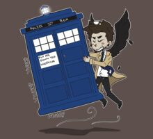Castiel Has The Phone Booth T-Shirt