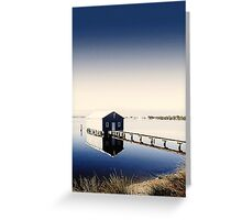 Matilda Bay Boat Shed Greeting Card