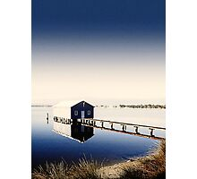 Matilda Bay Boat Shed Photographic Print