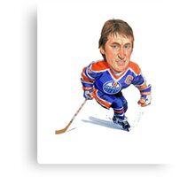Wayne Gretzky Edmonton Oilers Metal Print