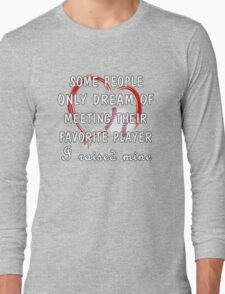 Baseball Mom Long Sleeve T-Shirt