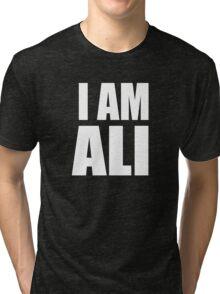 """MUHAMMAD ALI """"I AM ALI"""" MOVIE LEGENDS Tri-blend T-Shirt"""