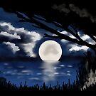 Blue Moonlight Serenade I by Rasendyll