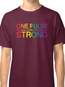 Peace, Love, Orlando Pride Classic T-Shirt