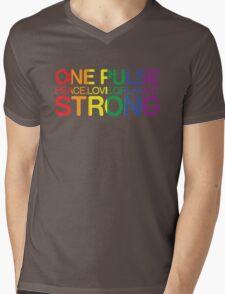 Peace, Love, Orlando Pride Mens V-Neck T-Shirt