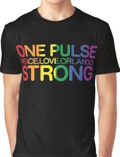 Peace, Love, Orlando Pride Graphic T-Shirt
