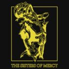 The Sisters Of Mercy - The Worlds End - Front Yellow -Under The Gun by createdezign