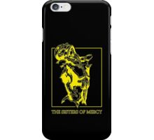 The Sisters Of Mercy - The Worlds End - Front Yellow -Under The Gun iPhone Case/Skin