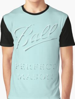 Mason Jar Fan #1 Graphic T-Shirt