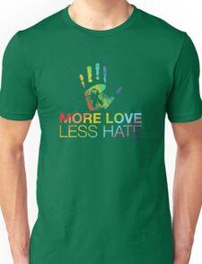 More Love Less Hate, Orlando Pride Unisex T-Shirt