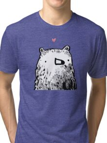 Bear Love Tri-blend T-Shirt