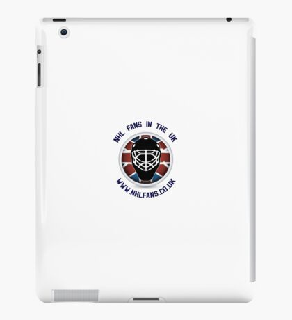 NHL Fans UK Goalie Mask Logo iPad Case/Skin