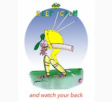 Keep Calm and watch your back - tony fernandes Unisex T-Shirt