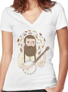 Banjo Women's Fitted V-Neck T-Shirt