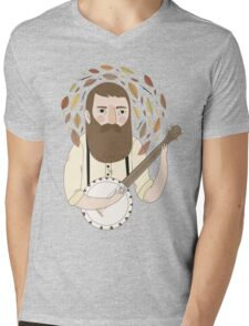 Banjo Mens V-Neck T-Shirt