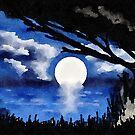 Blue Moonlight Serenade II by Rasendyll