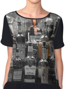 Pick Your Poison Alcohol Bar Chiffon Top