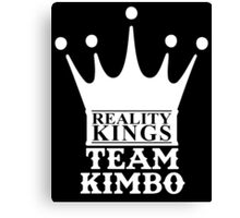 KIMBO SLICE TEAM KIMBO REALITY KINGS Canvas Print