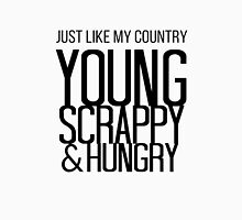 Just like my country Womens Fitted T-Shirt