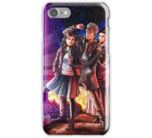 Doctor Who Back to the Future iPhone Case/Skin