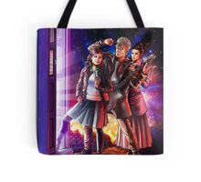 Doctor Who Back to the Future Tote Bag