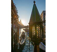 Gondola Photographic Print
