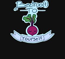 Beetroo(t) to yourself Womens Fitted T-Shirt