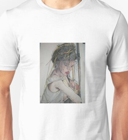 Millie at the Window Unisex T-Shirt