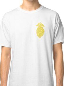 Seamless pattern, beautiful lemons, in a flat style Classic T-Shirt
