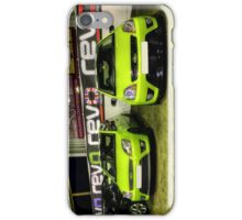 Two Green Fiestas HDR iPhone Case/Skin