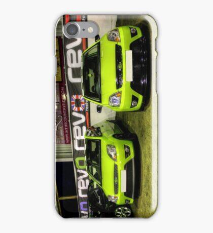 Two Green Fiestas HDR iPhone Case/Skin