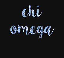 Chi Omega Blue Plant Design Unisex T-Shirt