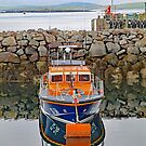Leverburgh Lifeboat by John Thurgood