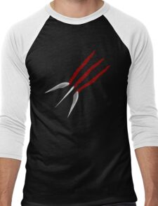 Wolverine Claws Men's Baseball ¾ T-Shirt