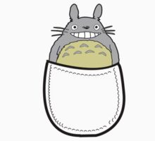 Pocket totoro. Anime Kids Clothes
