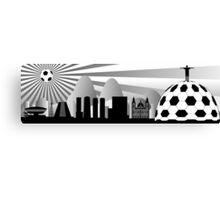 Rio skyline with ball Canvas Print