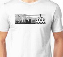 Rio skyline with ball Unisex T-Shirt