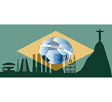 Rio de Janeiro skyline Photographic Print