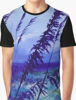 My blue landscape Graphic T-Shirt