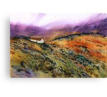 Highland Hideaway Canvas Print