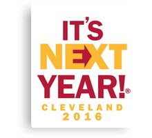 Cleveland - NBA Champs Canvas Print