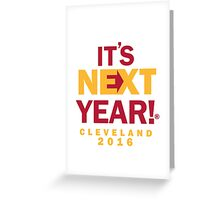 Cleveland - NBA Champs Greeting Card