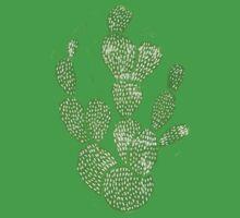 Linocut Cacti #1 Kids Tee