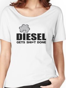 Diesel Gets Sh*t Done Women's Relaxed Fit T-Shirt