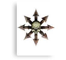 The Symbol of Chaos Canvas Print