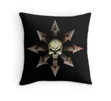 The Symbol of Chaos Throw Pillow